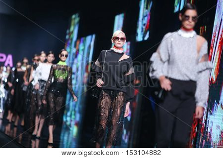 Bipa Fashion.hr Fashion Show: Envy Room, Zagreb, Croatia.