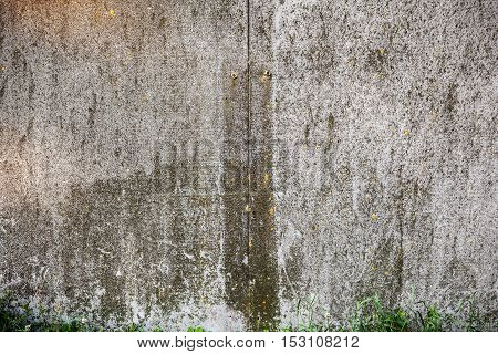 Old Rough Textured Concrete Wall.