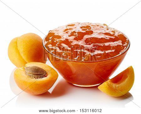 Bowl Of Apricot Jam