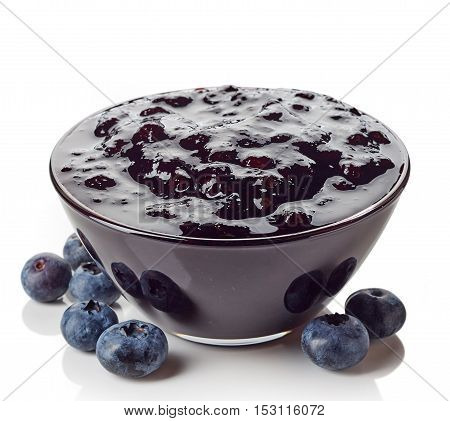 Bowl Of Blueberry Jam