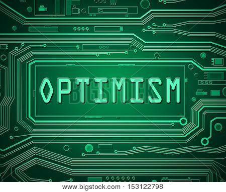 Technology Optimism Concept.