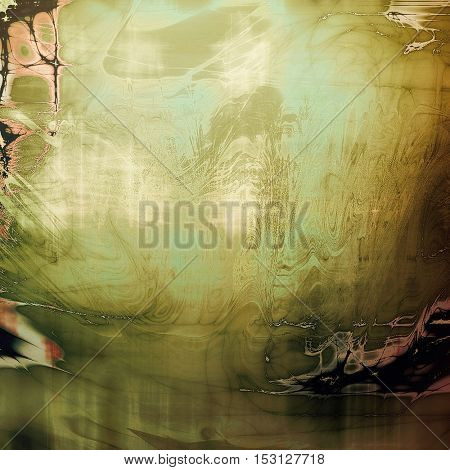 Colorful abstract retro background, aged vintage texture. With different color patterns: yellow (beige); brown; gray; green; black; cyan