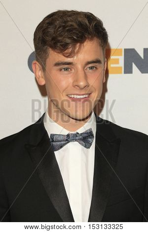 LOS ANGELES - OCT 21:  Connor Franta at the 2016 GLSEN Respect Awards at Beverly Wilshire Hotel on October 21, 2016 in Beverly Hills, CA