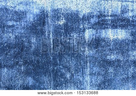 Cement texture or cement background from blue wall for design with copy space for text or image.
