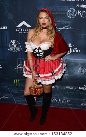 LOS ANGELES - OCT 22:  Antje Utgaard at the 2016 Maxim Halloween Party at Shrine Auditorium on October 22, 2016 in Los Angeles, CA