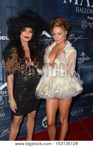 LOS ANGELES - OCT 22:  Carlton Gebbia, Melanie Marden at the 2016 Maxim Halloween Party at Shrine Auditorium on October 22, 2016 in Los Angeles, CA