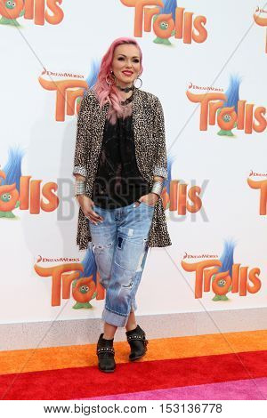 LOS ANGELES - OCT 23:  Kandee Johnson at the Trolls Premiere at Village Theater on October 23, 2016 in Westwood, CA