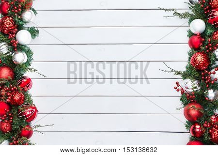 Double Sided Festive Christmas Border
