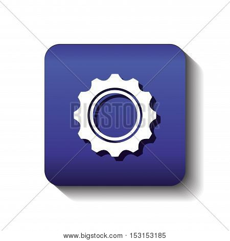 gear settings setup icon vector illustration design