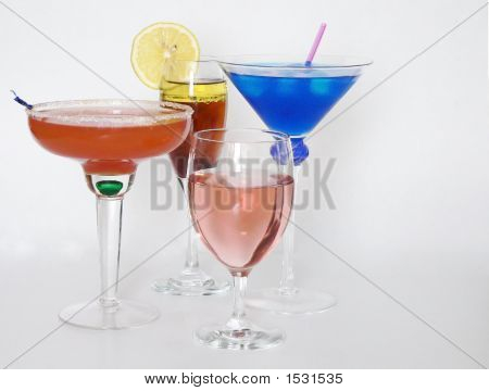 Cocktails Or Alcoholic Beverages