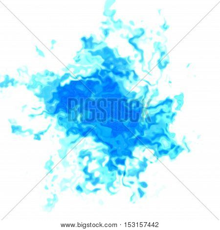 Blue irregular graphic spot blotch dirt image