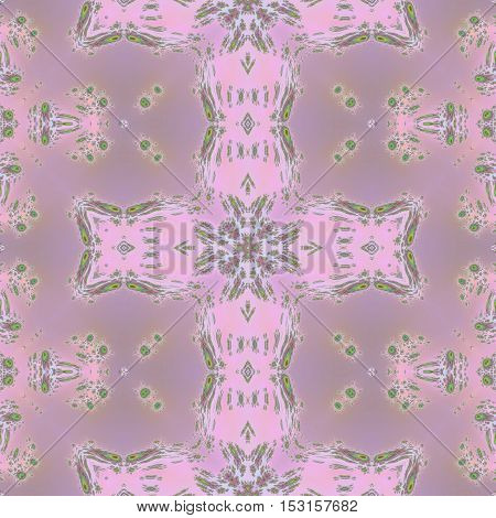 Seamless line old pink colored pattern design
