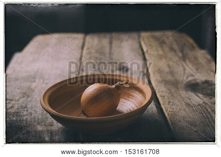 Vintage concept of poverty and sagging. Still-life