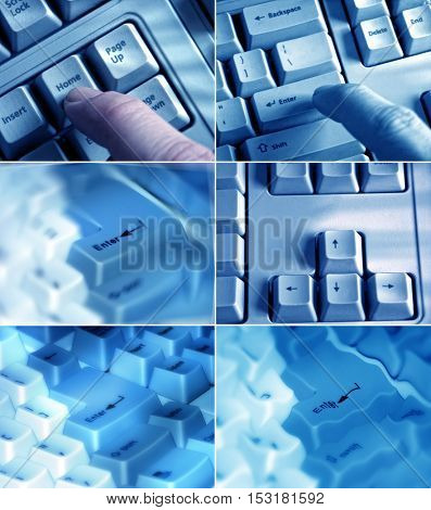 an image of keyboards