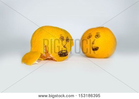Scared Mandarins