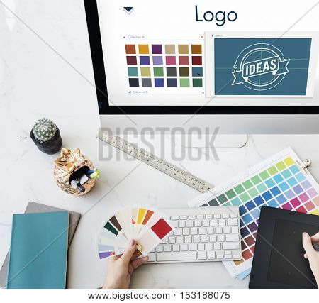 Logo Be Creative Inspiration Design Concept