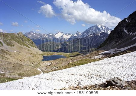 majestic mountain landscape in Caucasus