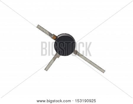 the new transistor on a white background