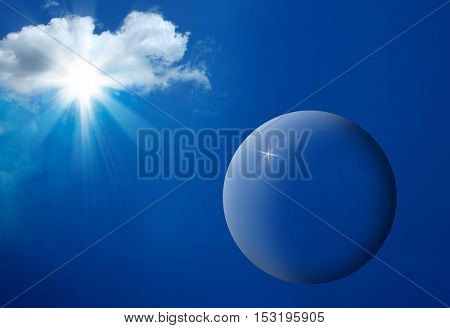 an image of clouds and blue sky