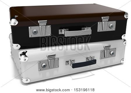 3D Business Briefcases
