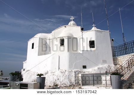 Church of St. George on the hill of Lykavitos. Athens. Greece