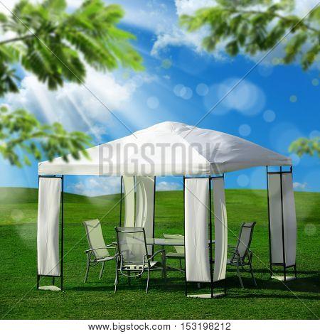 an image of garden tent