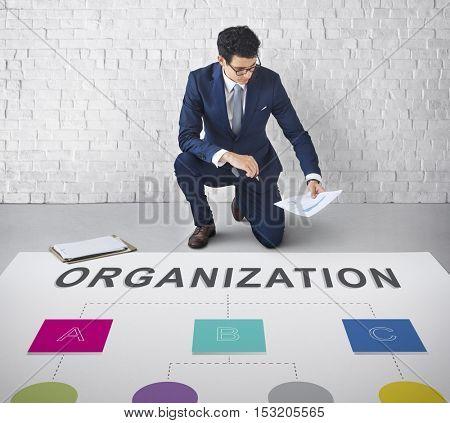 Organization Chart Position Structure Concept