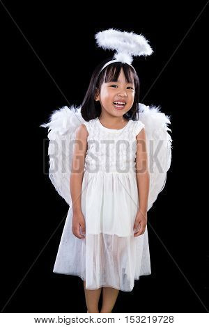 Smiling Asian Chinese Little Angel