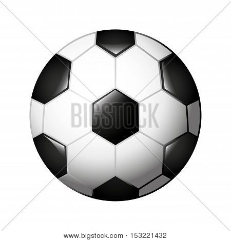 soccer balloon isolated icon vector illustration design