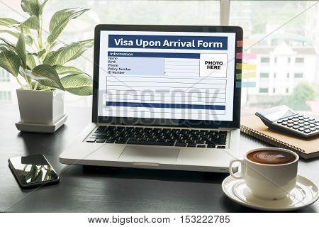 Visa Upon Arrival Form