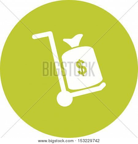 Money, transfer, bank icon vector image. Can also be used for currency. Suitable for web apps, mobile apps and print media.