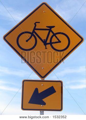 Bikepath Sign
