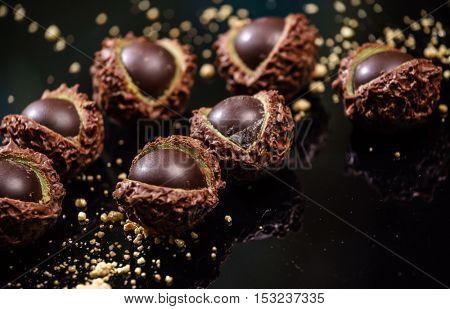 chocolate chestnuts
