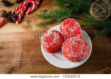 Traditional Russian and Ukrainian Christmas sweet pastries called