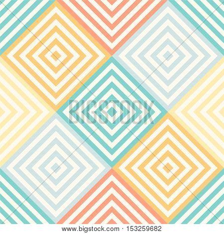 Abstract Seamless Geometric Pattern - Rhombus