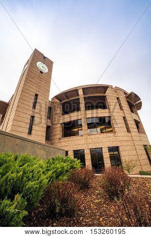 Colorado Spring University Building, Co, Usa