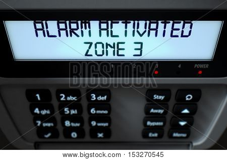 Alarm Panel Activated