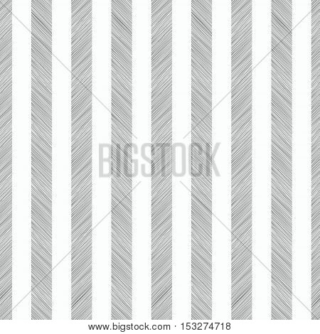 Seamless pattern. Vertical stripes of hatching pencil
