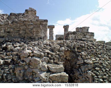 Ruin At Tulum