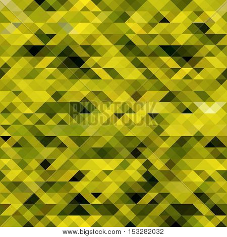 Abstract modern geometric background. Vector triangle yellow background for webdesign.