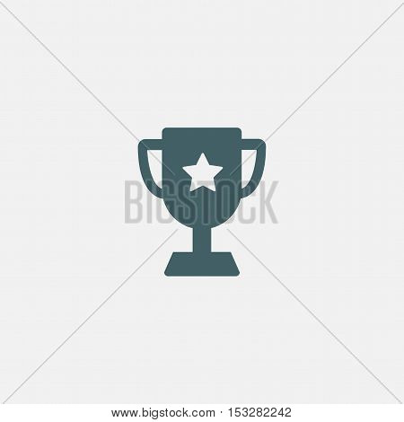winner vector  icon isolated on white background