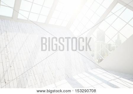 Blank Wall In Room Side