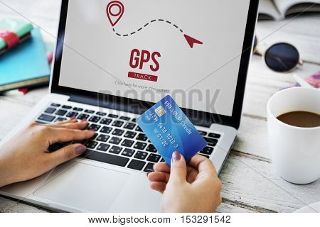 GPS Navigation Digital Technology Concept