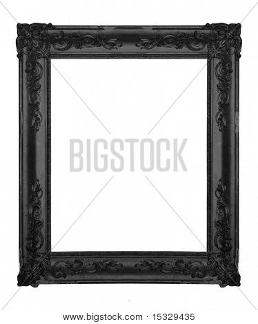 Vintage black ornate frame