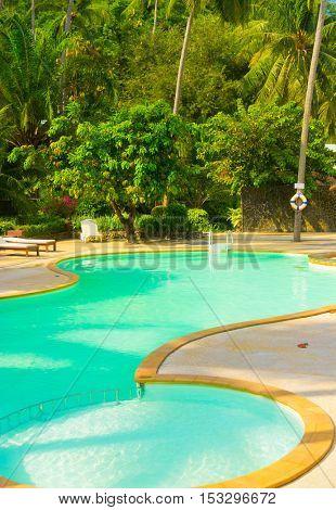 Blue Luxury Resort Relaxation