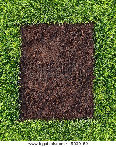 Healthy grass and soil frame similar available in my portfolio