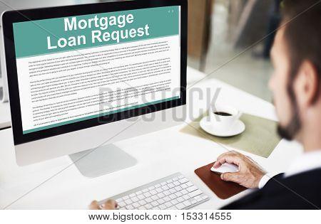 Mortgage Loan Request Modification Document Concept