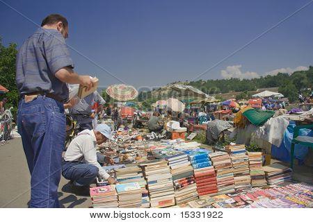 En el mercado de pulgas