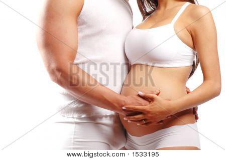 Zwangere Lady