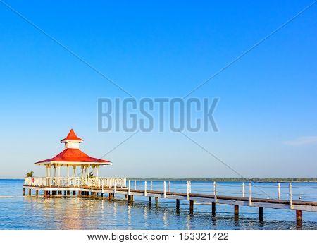 Sea Bridge Gazebo